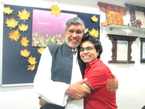 Meeting with Nobel Laureate Shri Kailash Satyarthi 1