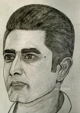 Anil Kumble Sketch