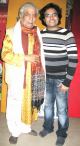 Meeting with Kathak Maestro Birju Maharaj 1