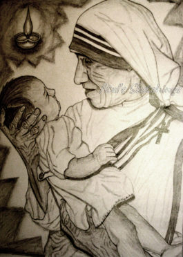 Mother Teresa Sketch