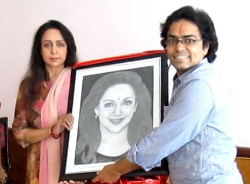 Meeting with Hema Malini (Dream Girl) 1